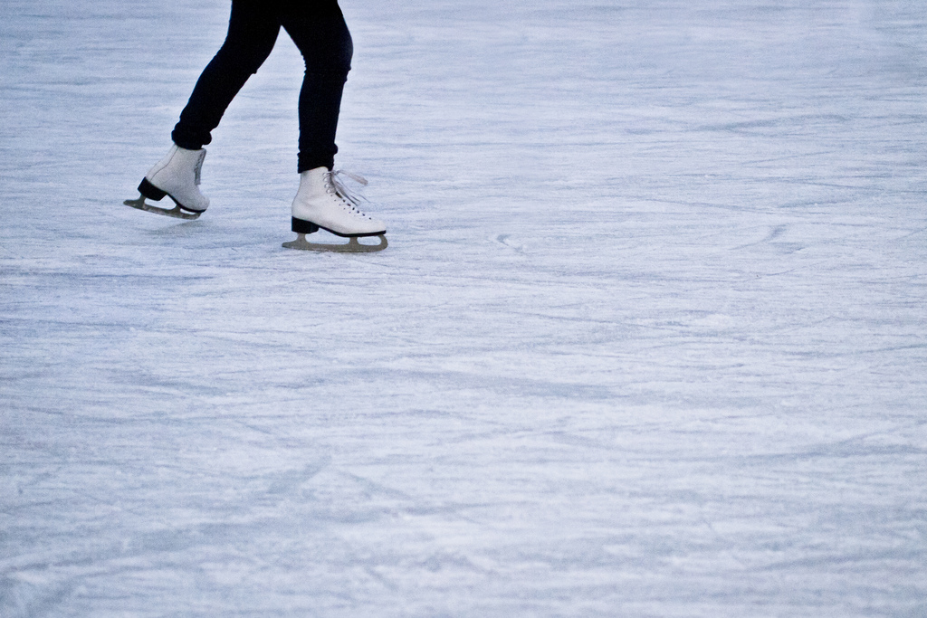 this is a picture of ice rink