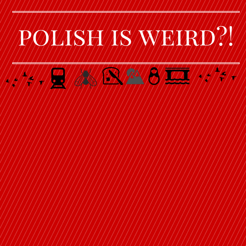 picture saying polish is weird